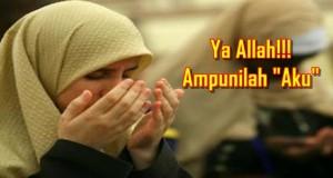 kenapa guna perkataan aku semasa berdoa kepada allah