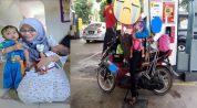 kisah viral wanita ditinggalkan suami bawa motor dari penang ke kajang.jpg