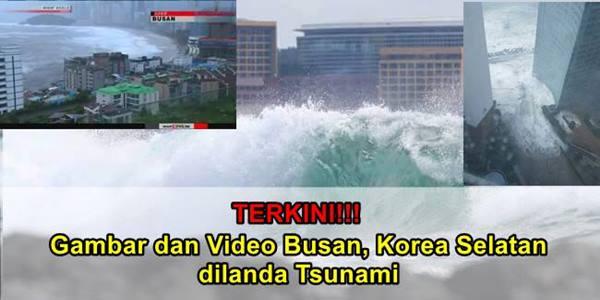 Busan Korea Dilanda Tsunami
