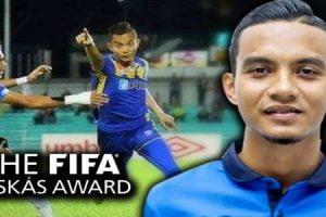 Gol Tercantik Pemain Malaysia Bertanding Anugerah FIFA Puskás Award 2016