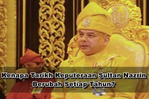 Tarikh Keputeraan Sultan Perak