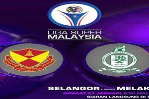 Selangor vs Melaka United