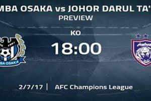 JDT vs Gamba Osaka