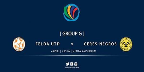 Felda United vs Ceres-Negros