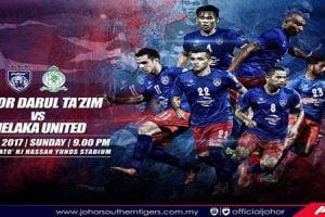 JDT vs Melaka United