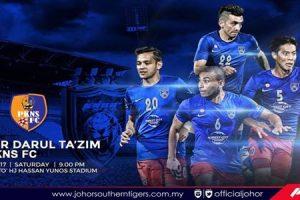 Keputusan JDT vs PKNS FC