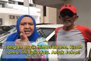Video Isteri Saleem Mengamuk