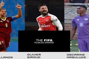 Finalis The FIFA Puskas Awards 2017