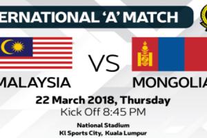 Malaysia vs Mongolia