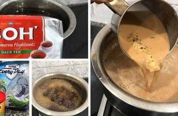 resepi teh masala